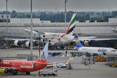 München (MUC) Airbus A 380 - Wer ist wohl der Größte?
