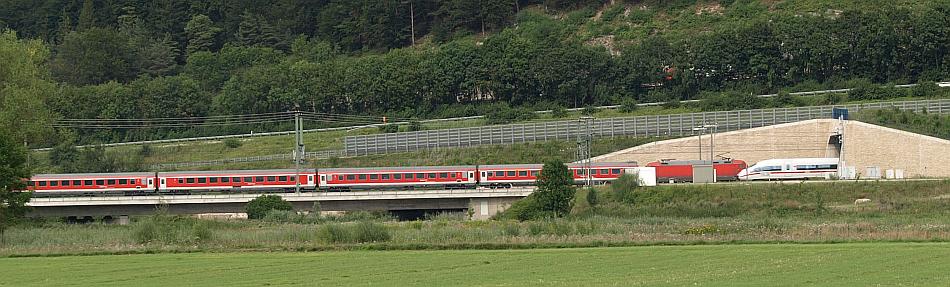 München-Nürnberg-Express meets ICE3