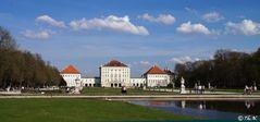 München, Schloss Nymphenburg im April