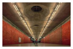 München U-Bahn *** Messestadt West 1 ***