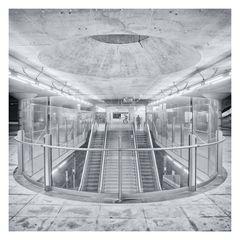 München U-Bahn *** Messestadt West 2 ***