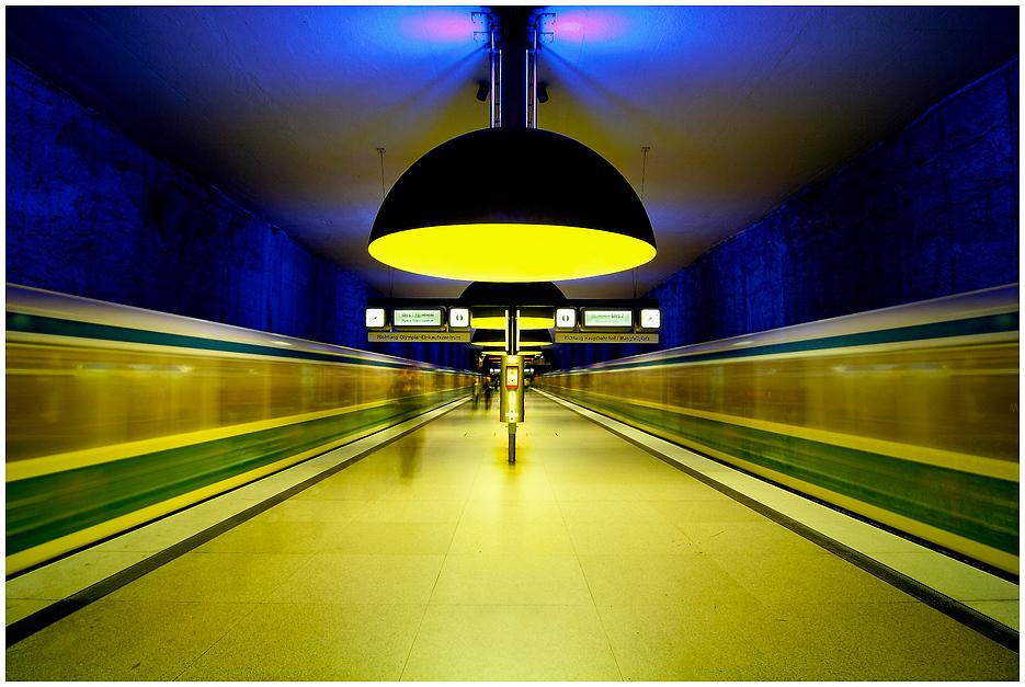 München - U-Bahnhof Westfriedhof