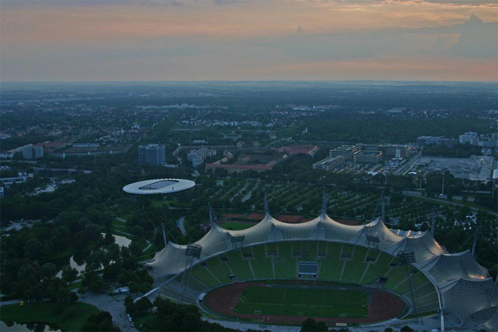 München vom Olympiatrum