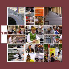 Münchner Reportagen von E. Vedovelli 2010 Collage Abschied von München