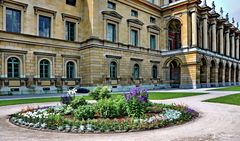 Münchner Residenz, Fassade zum Hofgarten
