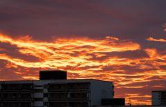 Münchner Sonnenuntergang