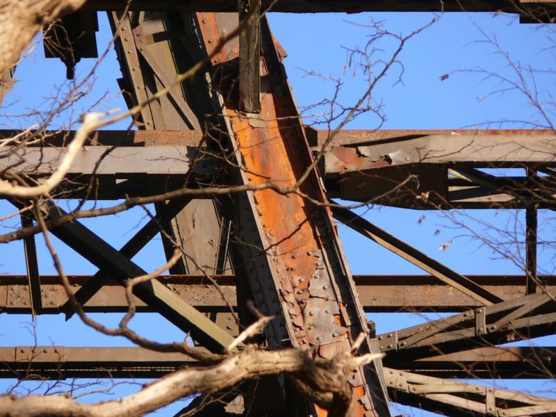 Müngstener Brücke - Ein Neuanstrich ist dringend erforderlich !