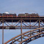 Müngstener Brücke -> noch einmal mit Dampfloks