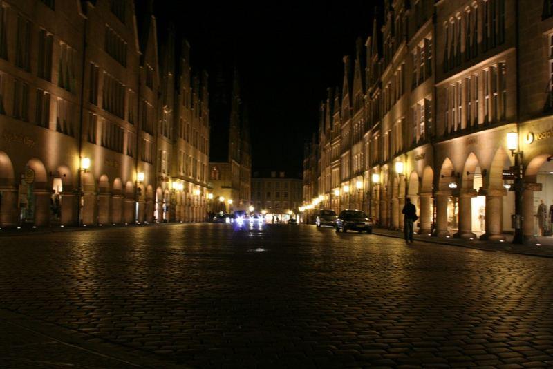Münster at night