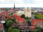 Münster Blick von der Überwasserkirche über die Stadt 16.08.2014