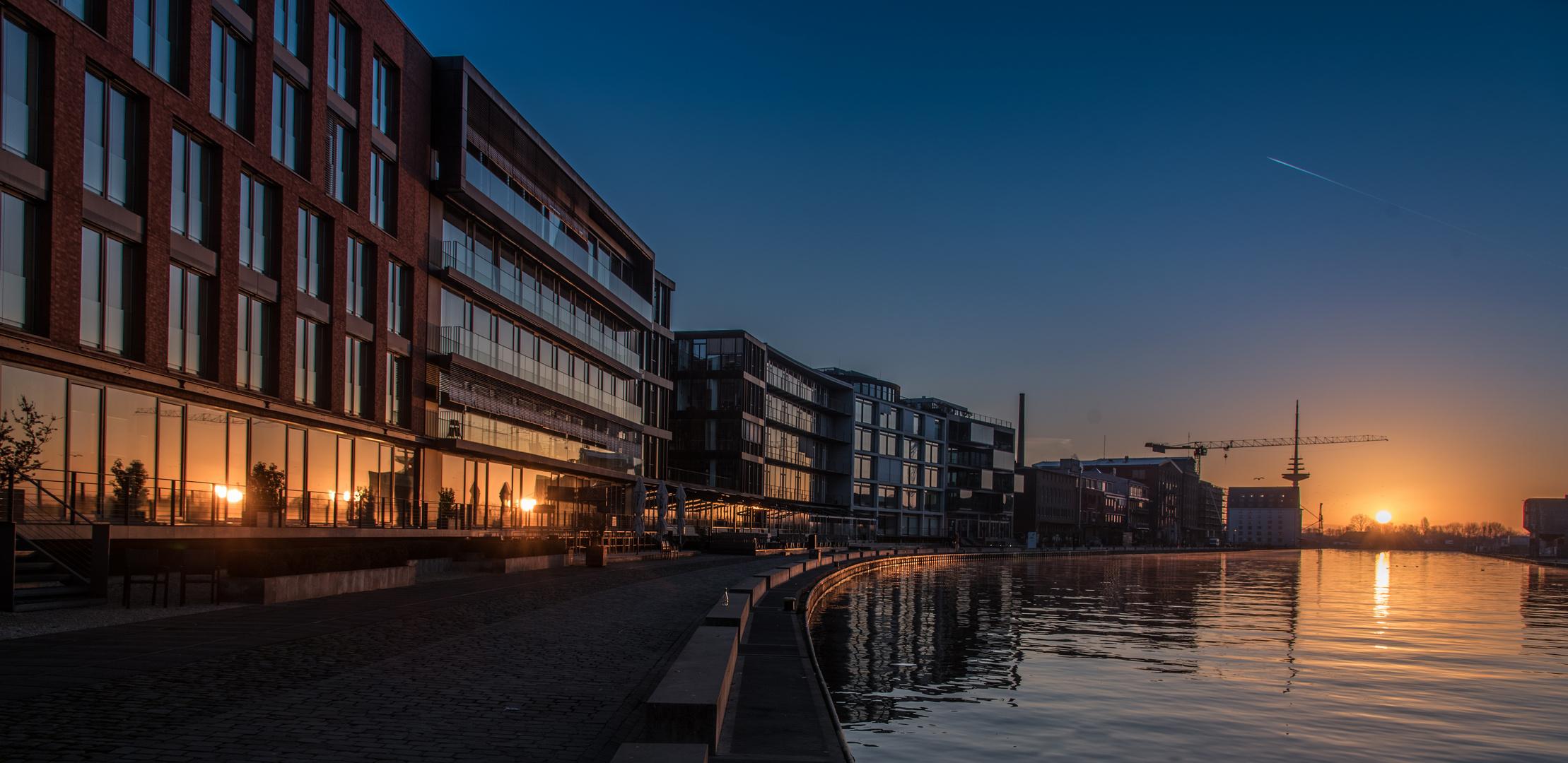 Münster Hafen