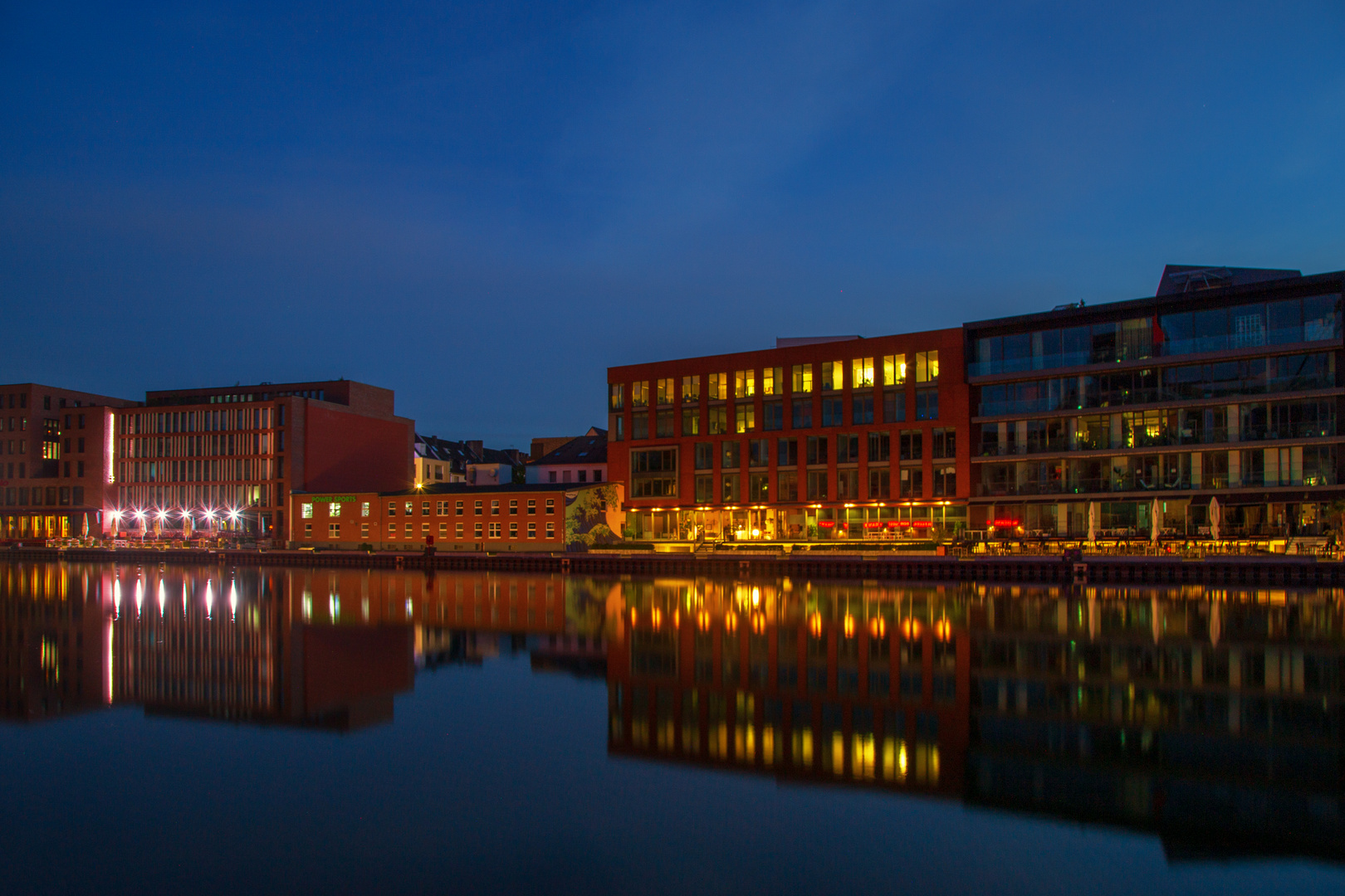 Münster Hafen mal anders
