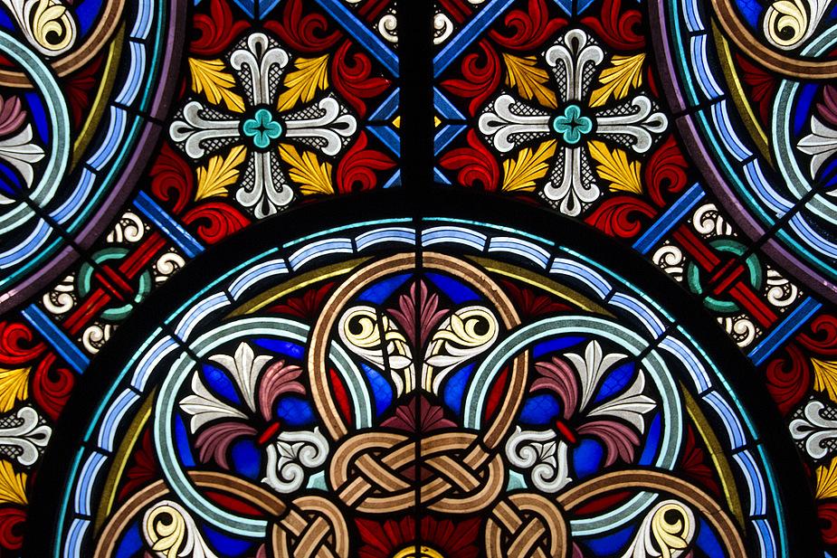 Münster in Basel - Fensterdetail 1