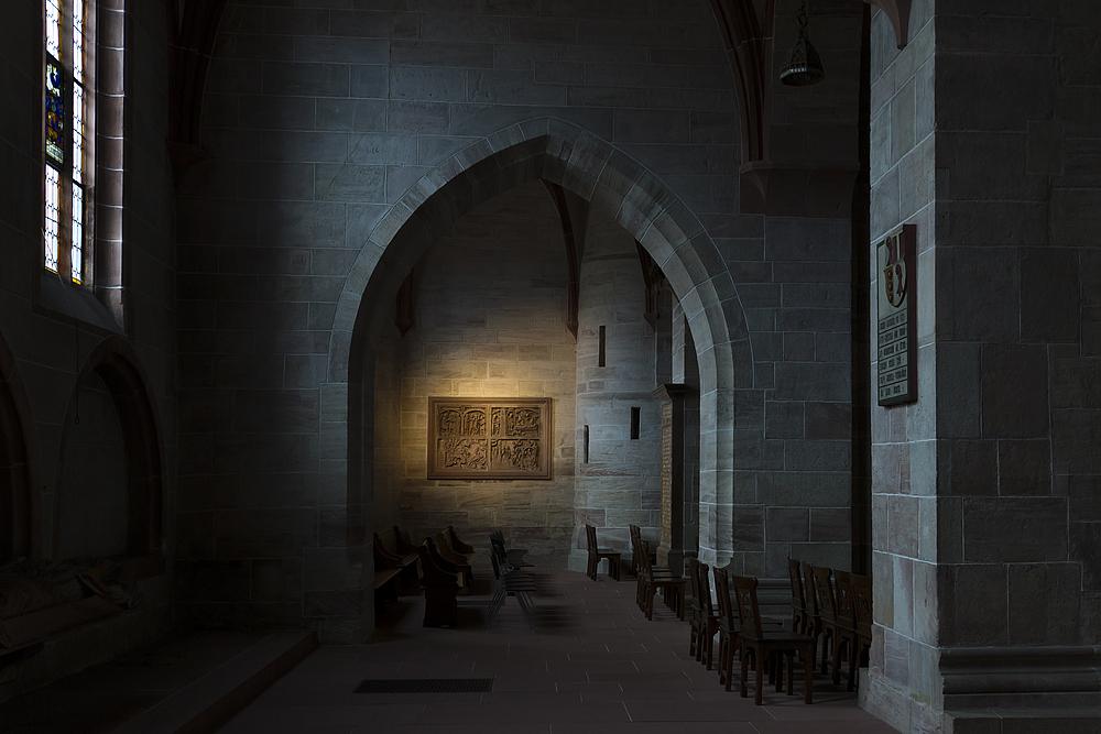 Münster in Basel - Innenraum 1