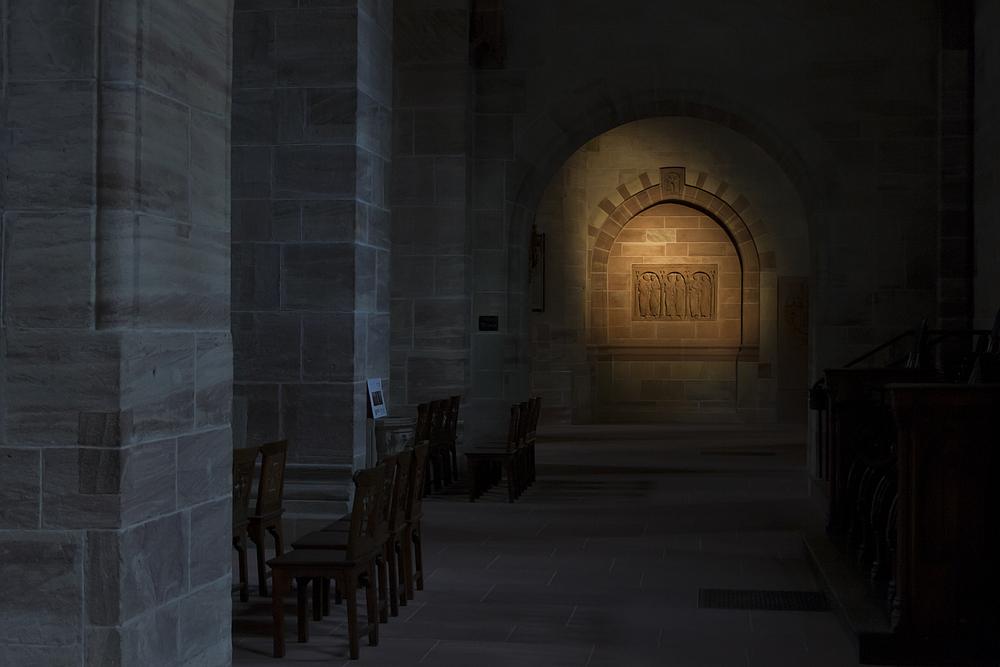 Münster in Basel - Innenraum