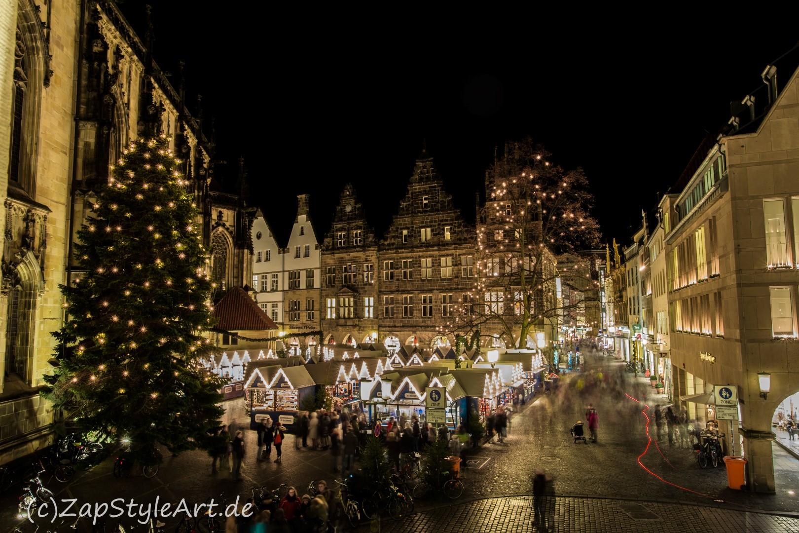 Weihnachtsmarkt Münster Adresse