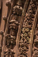 Münster-Portal-Detail