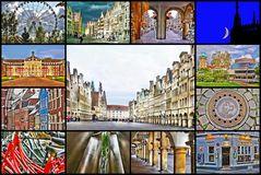 Münster über die 12 Monate des Jahres in ART
