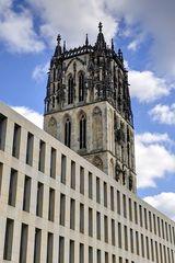 Münster - Überwasserkirche mit Diözesanbibliothek