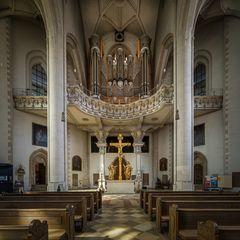 """Münster Zur Schönen Unserer Lieben Frau (Ingolstadt) """"Mein Blick nach Westen"""""""