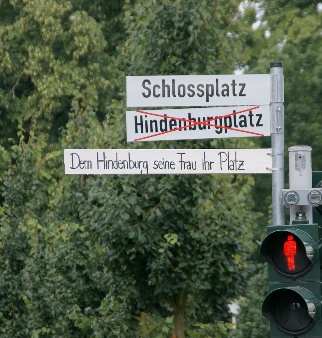 Münsters Rangelei um den Schlossplatz
