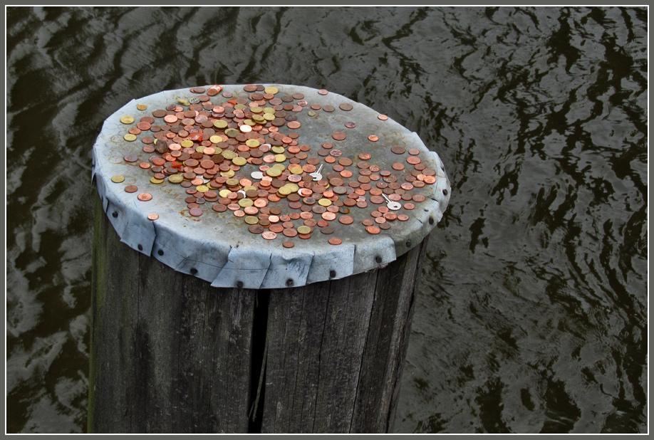 Münzen-Poller