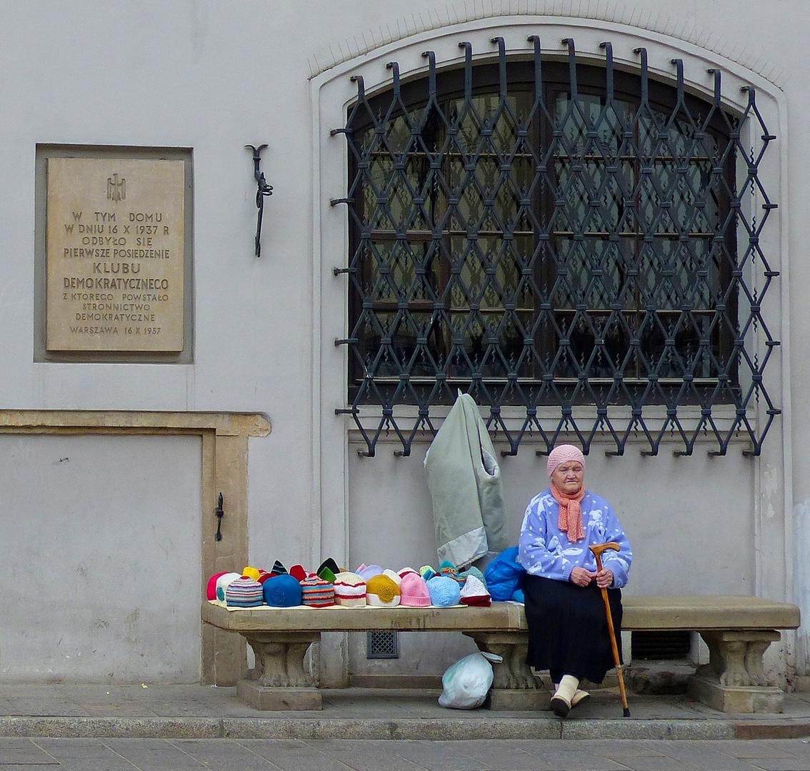 Mütterchen Polen. Warschau