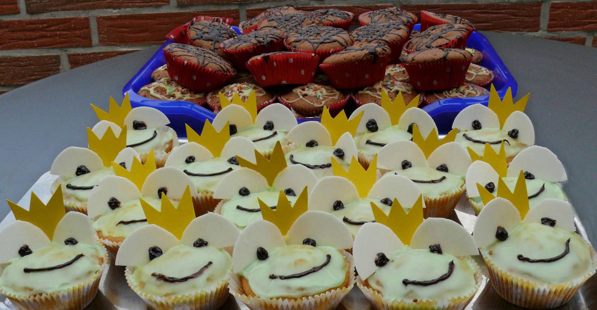 Muffins Für Den Runden Geburtstag Unserer Schwiegertochter