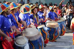 Mujer y Candombe