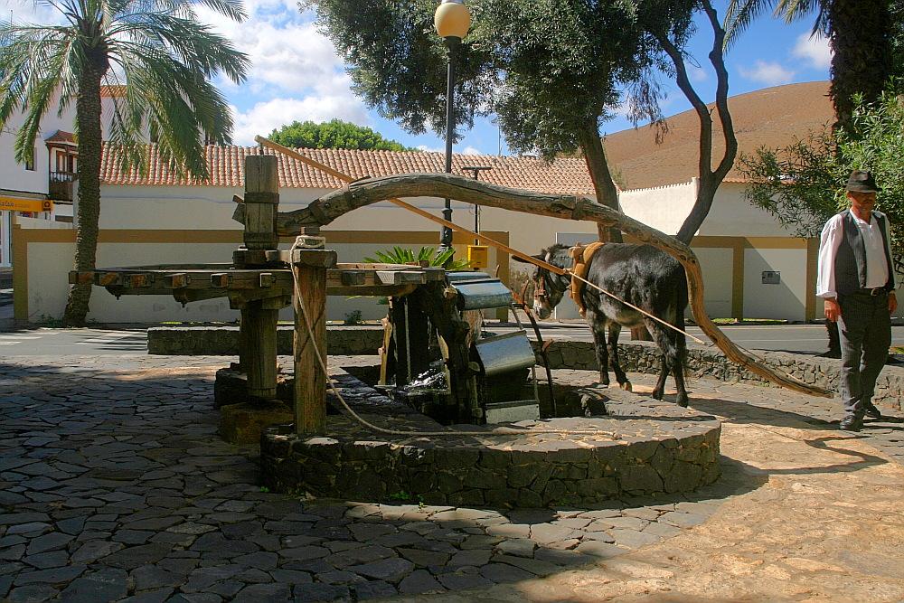 Muli, Göpel, Wasserrad...