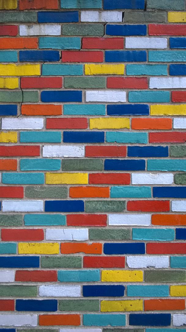 Multi Coloured Bricks