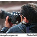 Multitasking Photographer