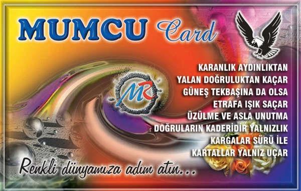 MUMCU card