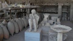 Mumifizierter menschlicher Körper