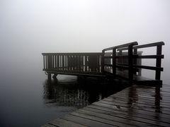 Mummelsee im Nebel