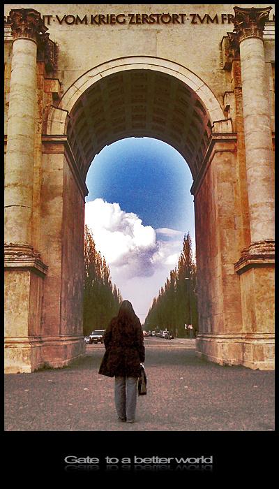 Munich. A war long ago. A gate. Memories ...