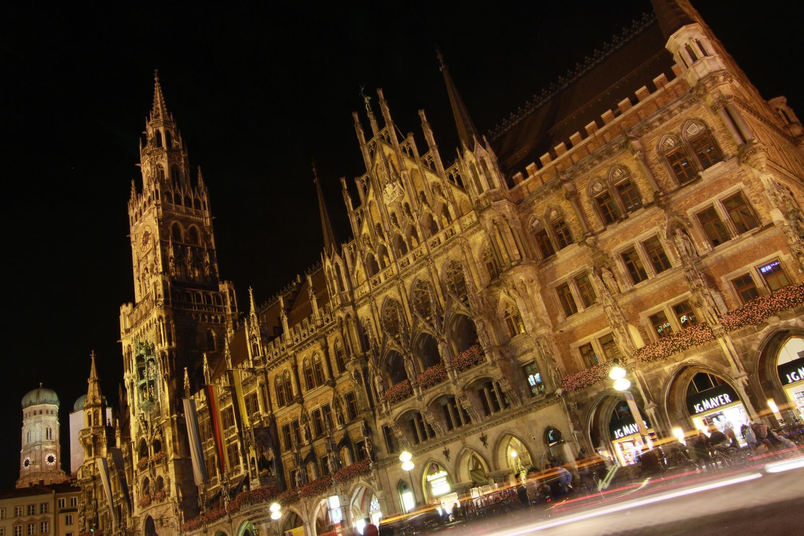 Munich by night.