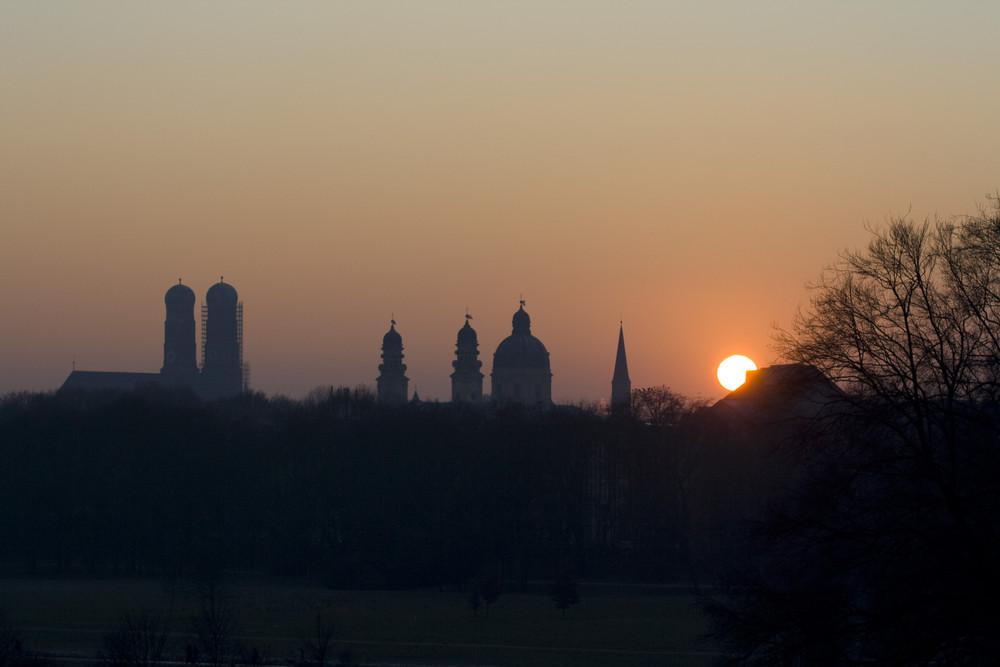 Munich Sunset II