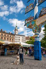 Munich -Viktualienmarkt
