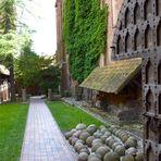 Munitionslager von der Marienburg bei Danzig