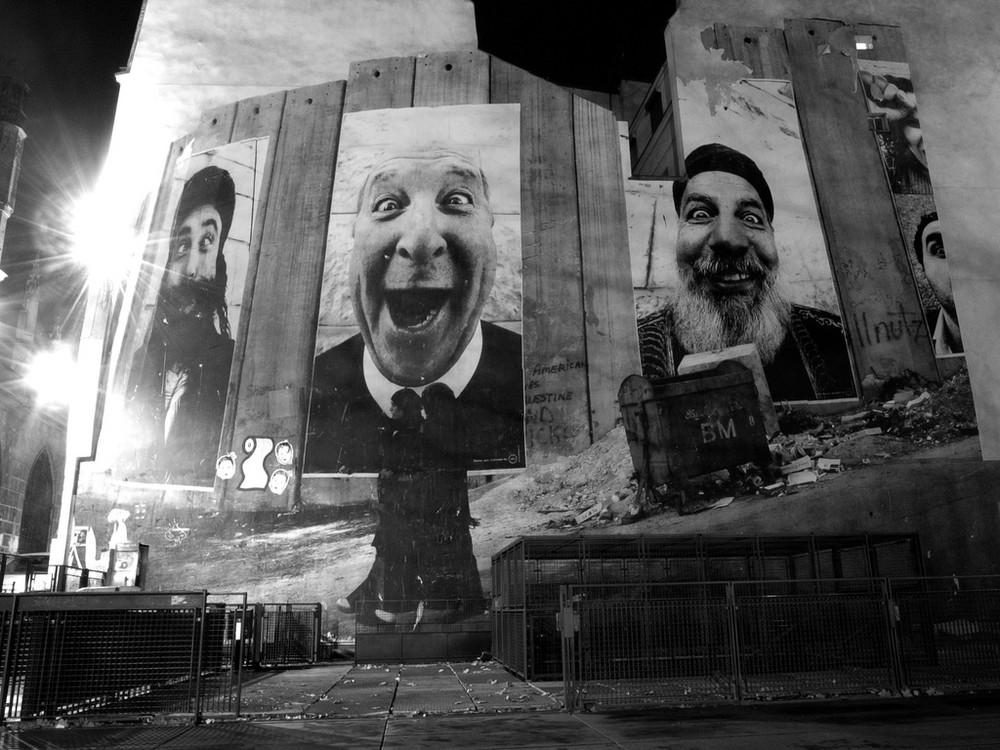 mur de visages
