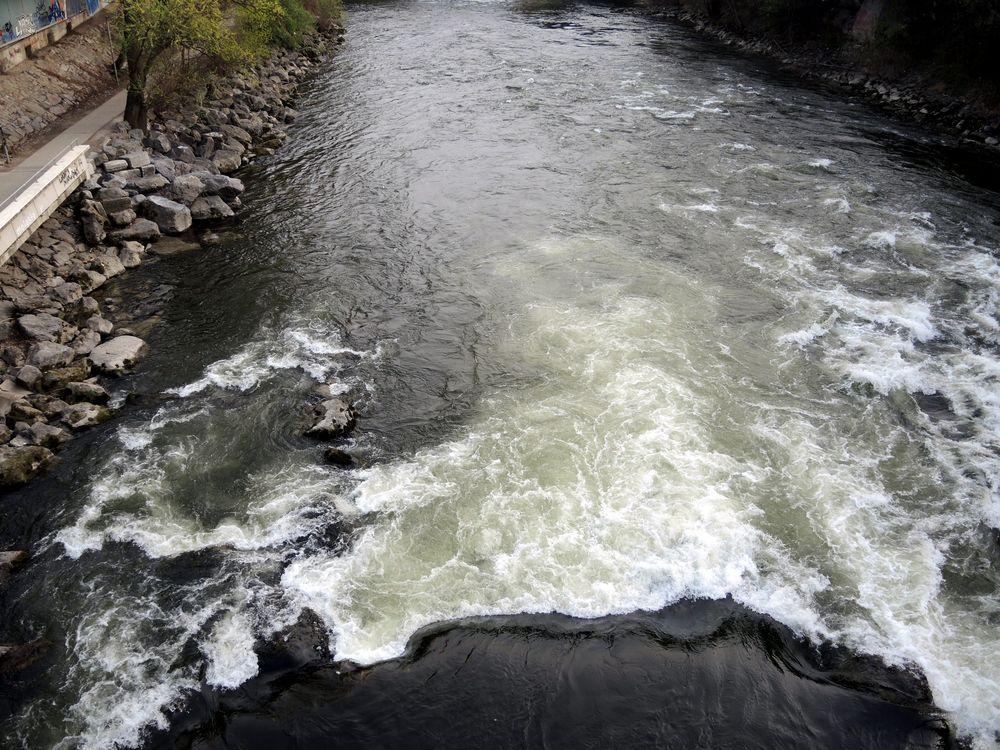 """Muragara Falls"" in Graz"