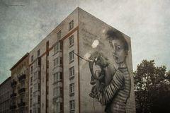 Mural Festival 2018 Berlin Moabit Artist: Onur, Wes21, Herakut