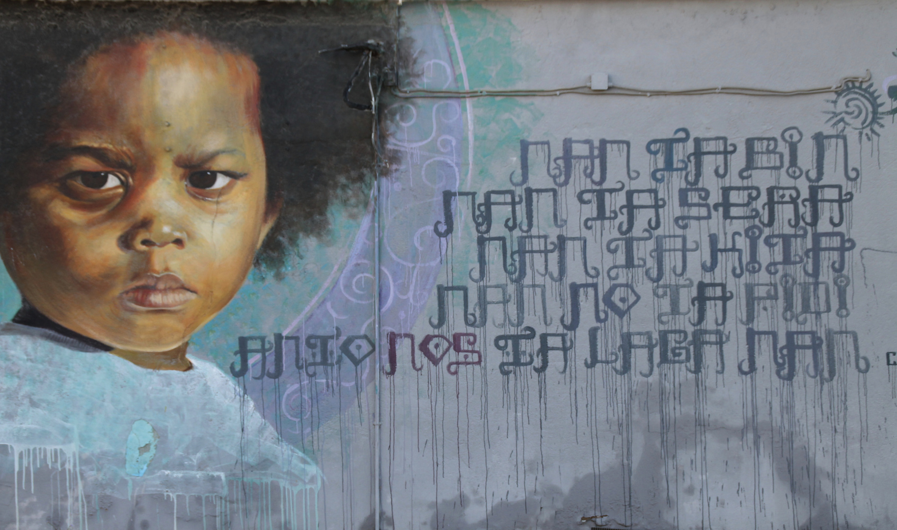 Mural in Curacao