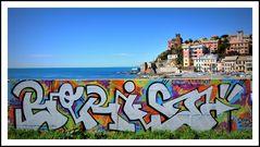 Murale sul mare