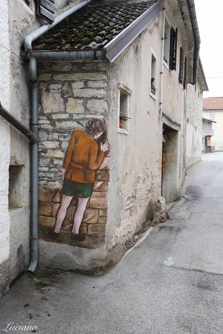 murales a Cugnan