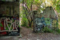 Murales, antiche fornaci di Caldè