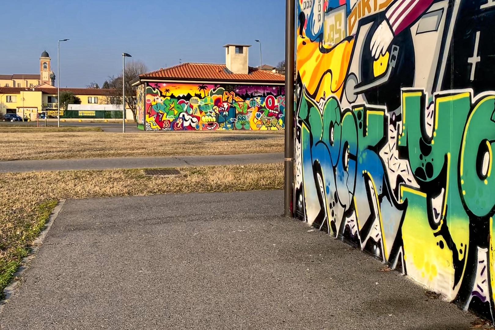 Murales della Cassanese