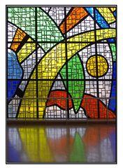murales di vetro