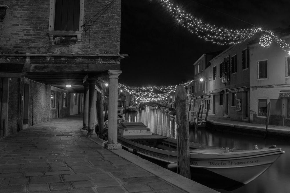 Murano bei Nacht